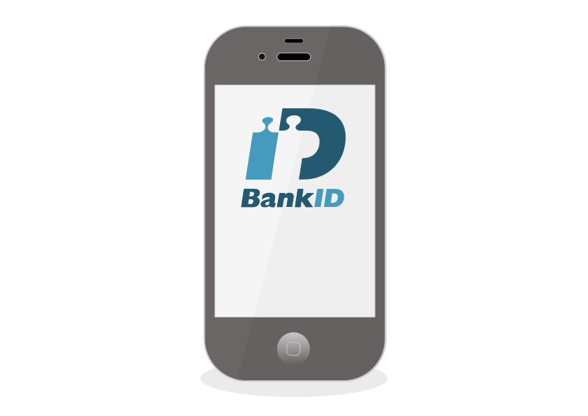 BankID på mobilen.